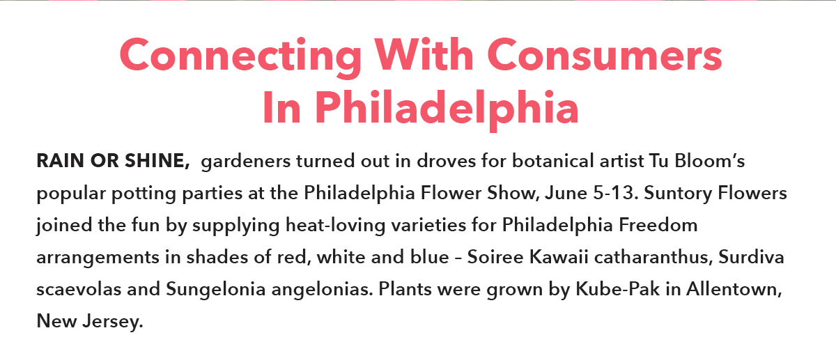 Connecting With Consumers In Philadelphia